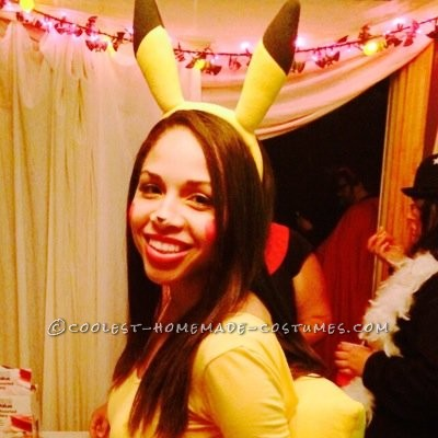 Cute Pikachu and Ash Couple Costume - 4