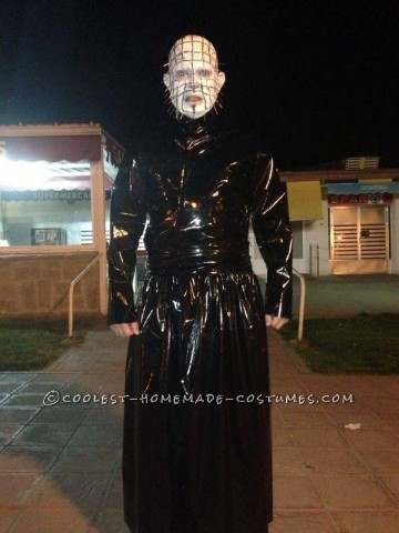 Homemade Pinhead from Hellraiser Costume