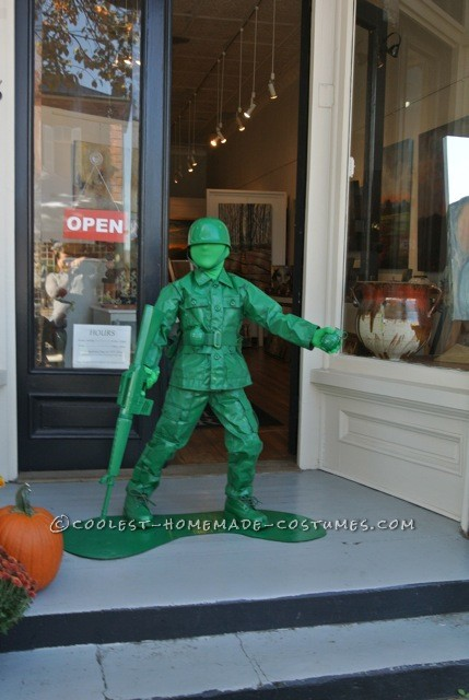 Cool Plastic Army Boy Halloween Costume - 2