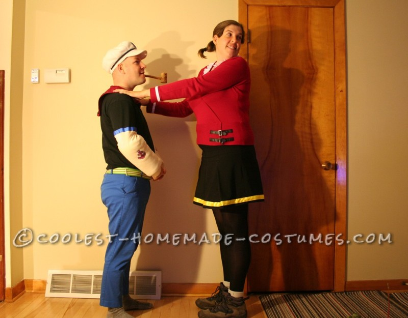 Coolest Popeye and Olive Oyl Costumes - 3