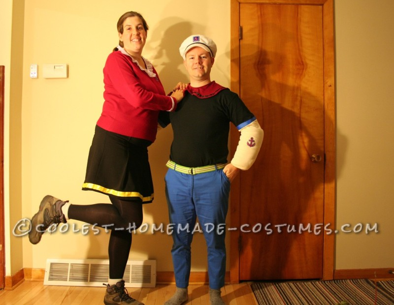 Coolest Popeye and Olive Oyl Costumes - 4