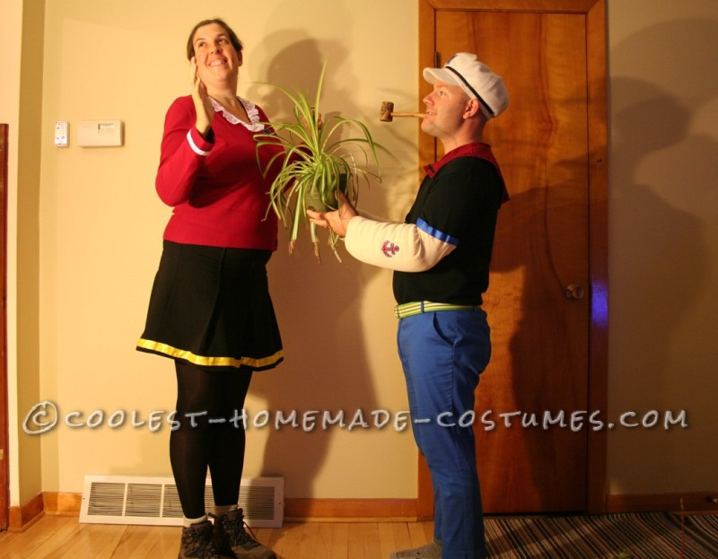 Coolest Popeye and Olive Oyl Costumes - 5
