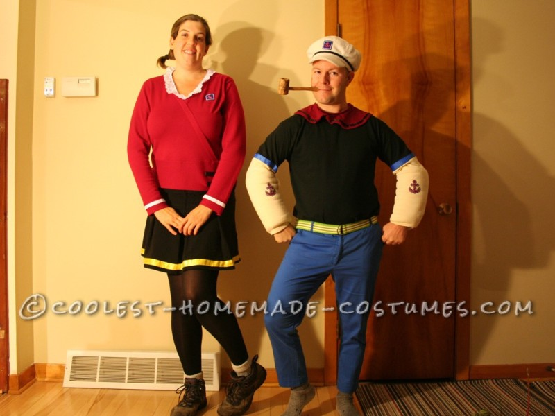 Coolest Popeye and Olive Oyl Costumes - 7