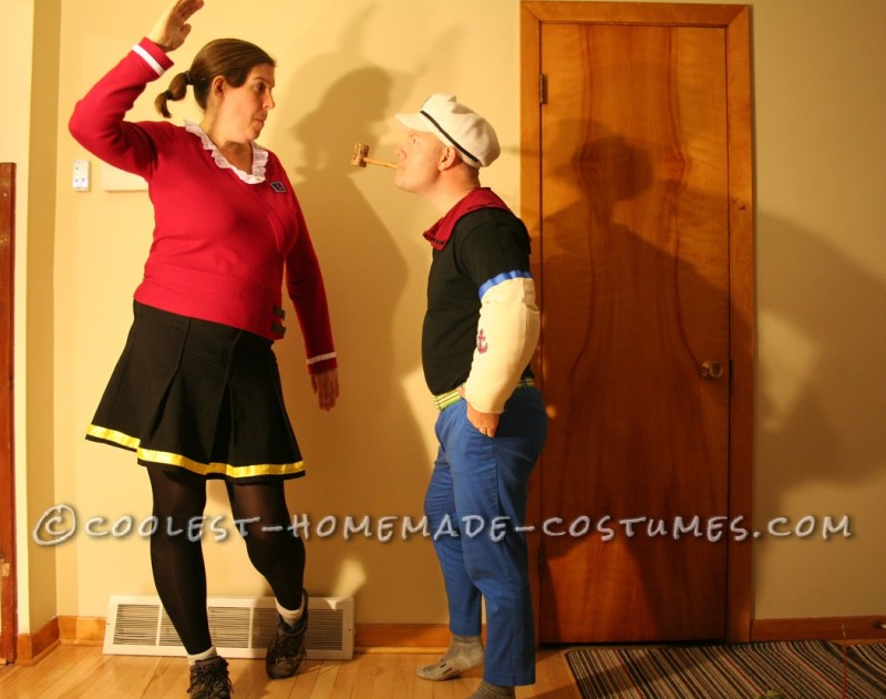 Coolest Popeye and Olive Oyl Costumes - 8