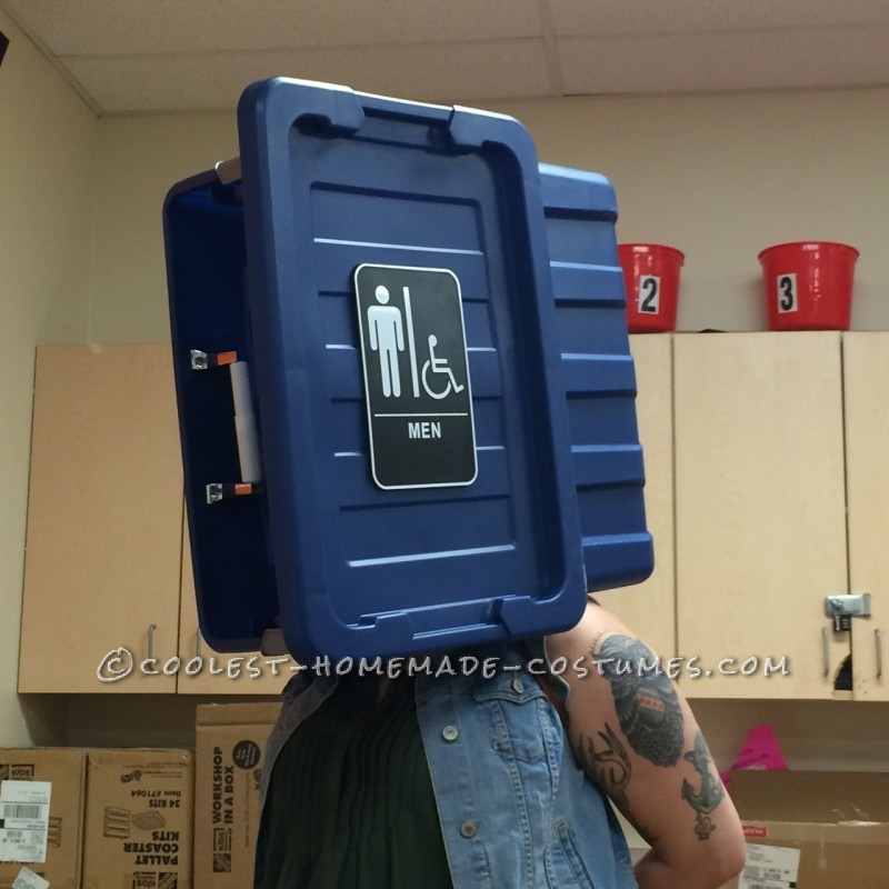 Funny Port-O-Hottie Costume