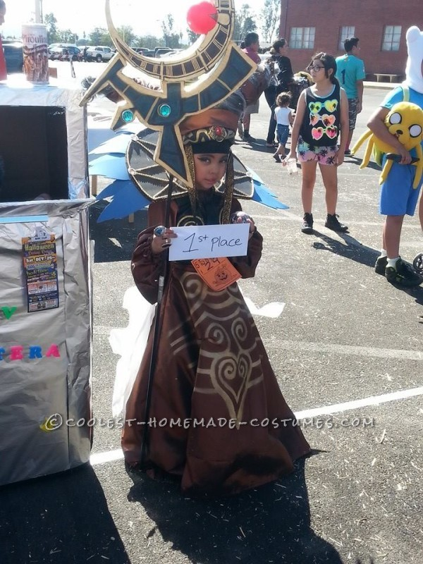 Power Rangers Villian Rita Repulsa Costume for a Girl - 2