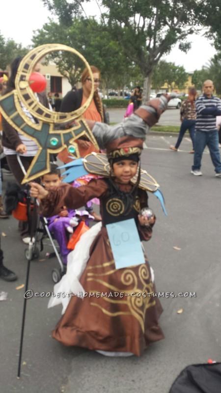 Power Rangers Villian Rita Repulsa Costume for a Girl