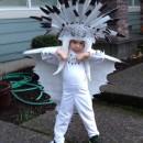 Preschooler's Detailed Homemade Boss Dragon Costume