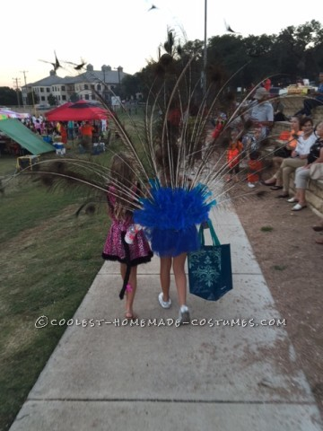 Pretty as a Peacock Child Costume