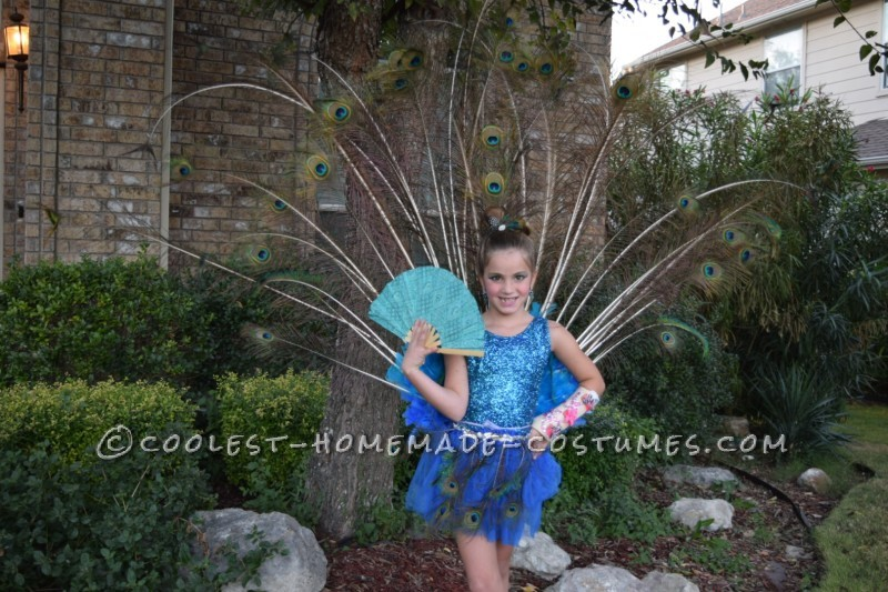 Pretty as a Peacock Child Costume