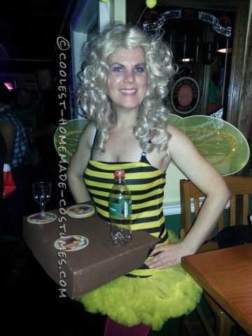 Punniest Bar-Bee Doll Costume