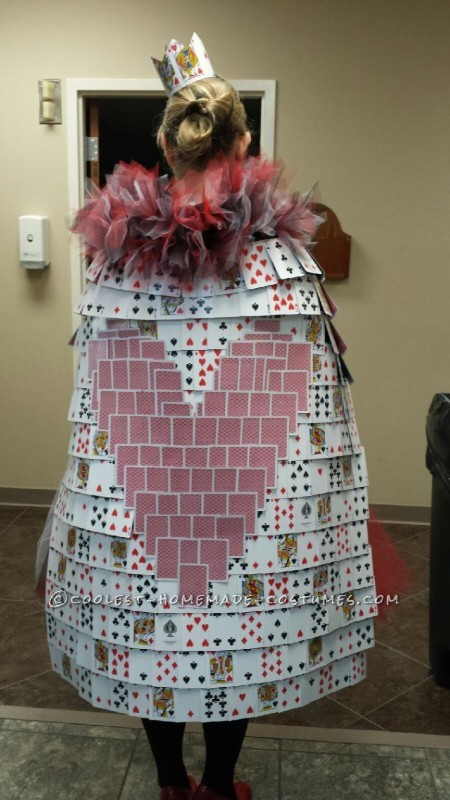 Back view of the Royal Robe