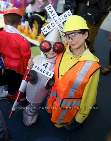 Coolest Railroad Crossing Gate and Railroad Worker Costumes