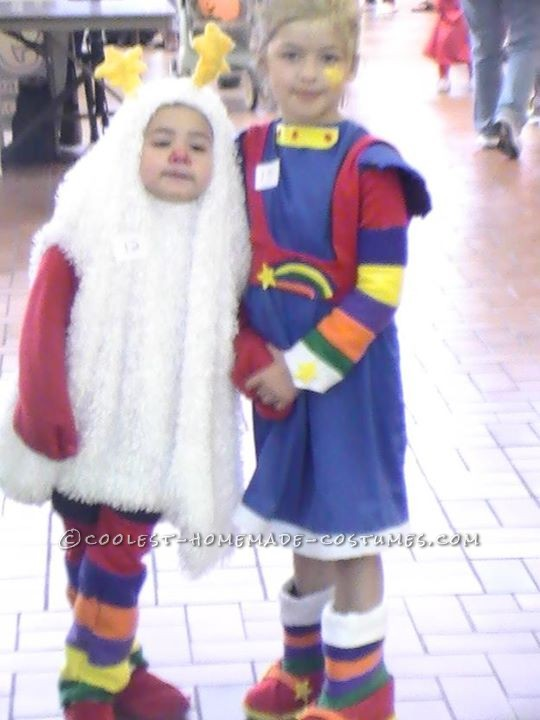Rainbow Brite and her Sprite Couple Costume