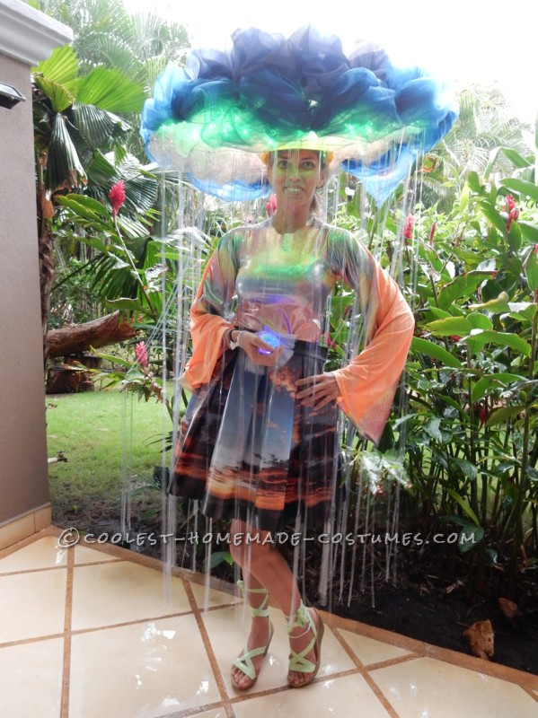 Super Original Homemade Rain Cloud Costume - 2