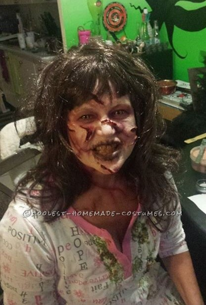 Creepy Reagan from The Exorcist Costume
