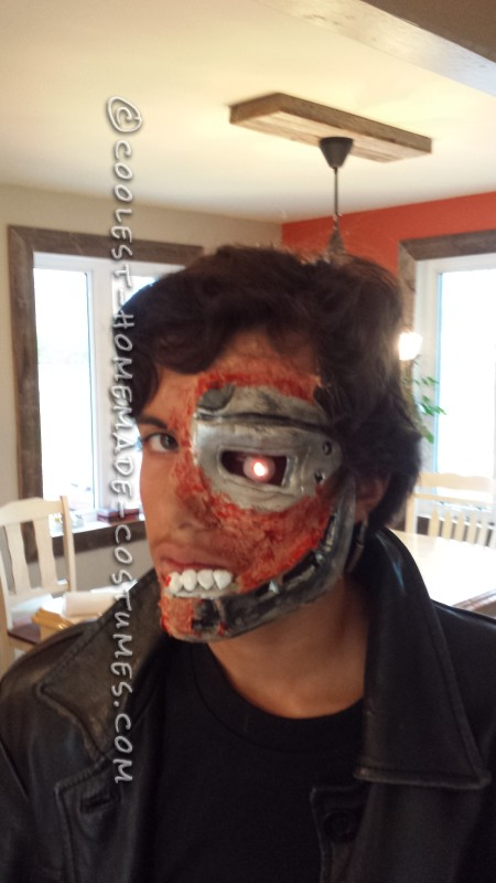 Homemade Terminator Costume