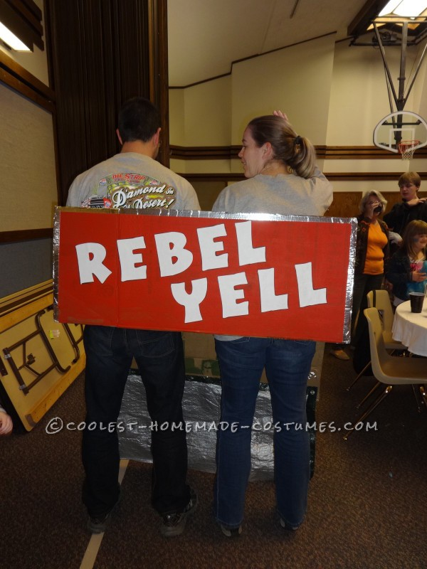 Rebel Yell Roller Coaster Couple Costume - 1
