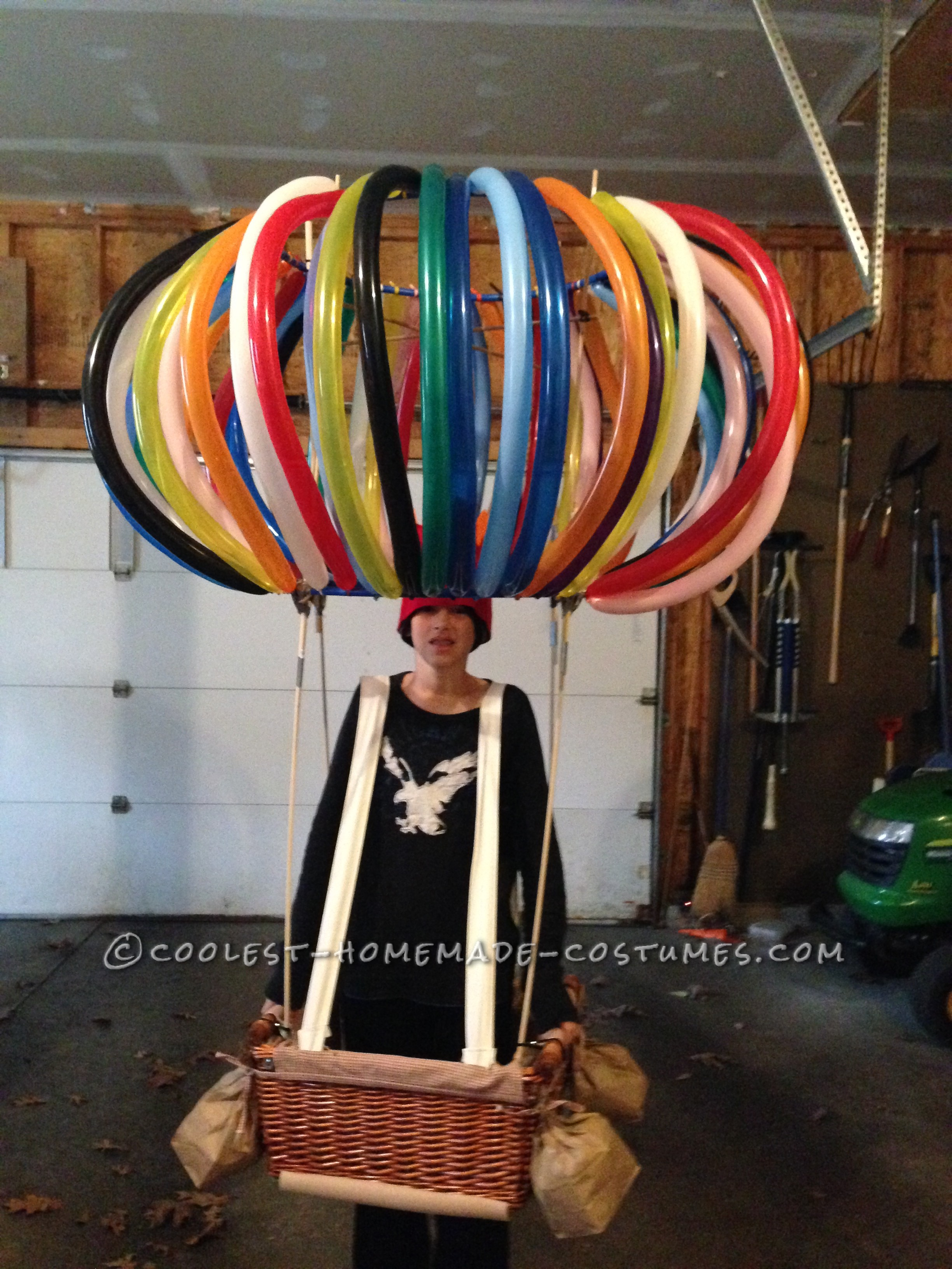 Coolest Hot Air Balloon Costume - Rise