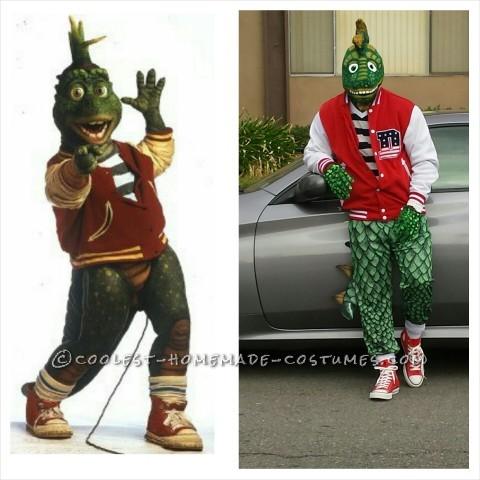Cool Robbie Sinclair the Dinosaur Costume