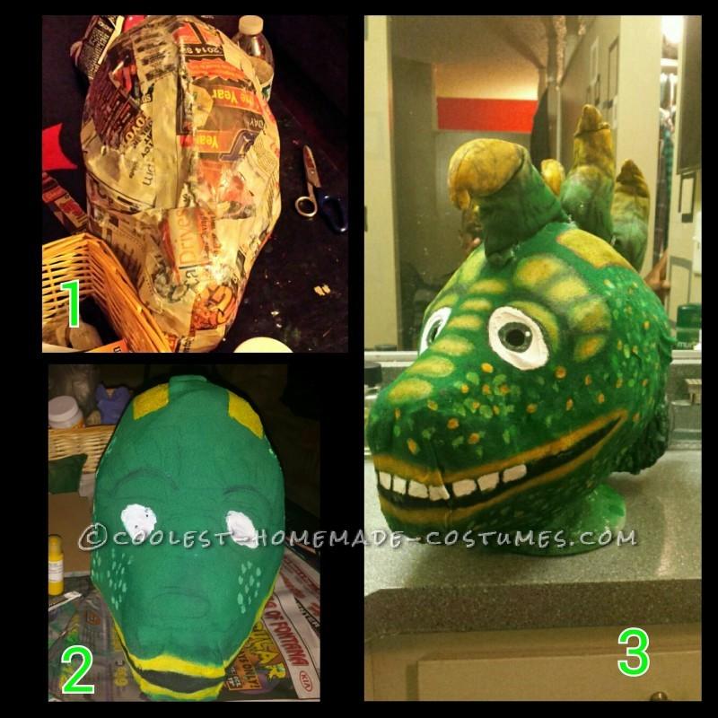 my paper mache mask