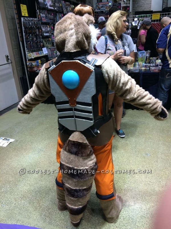 Cool Rocket Raccoon Costume From Gaurdians of the Galaxy