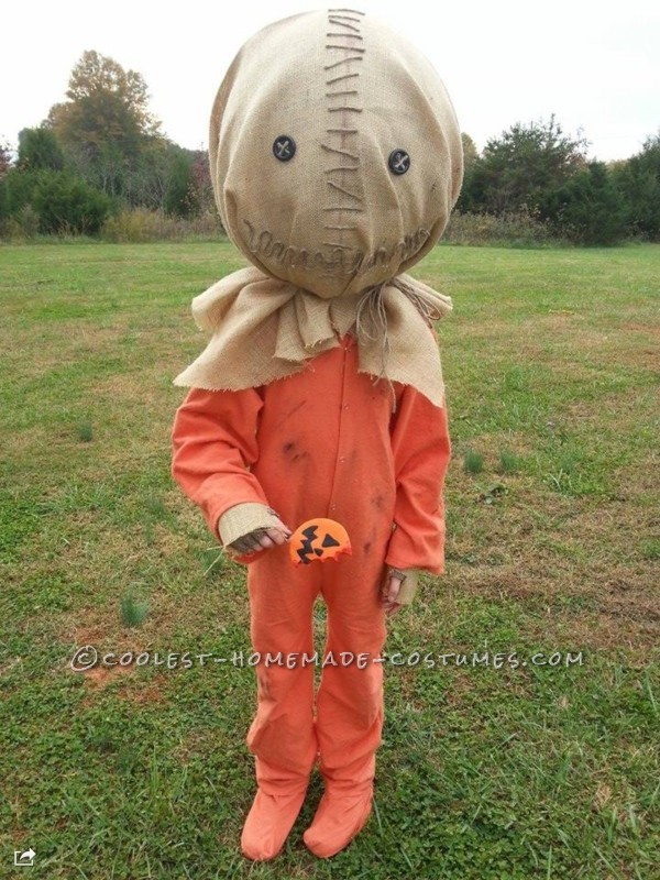 Coolest Homemade 'Sam' from Trick r Treat Costume