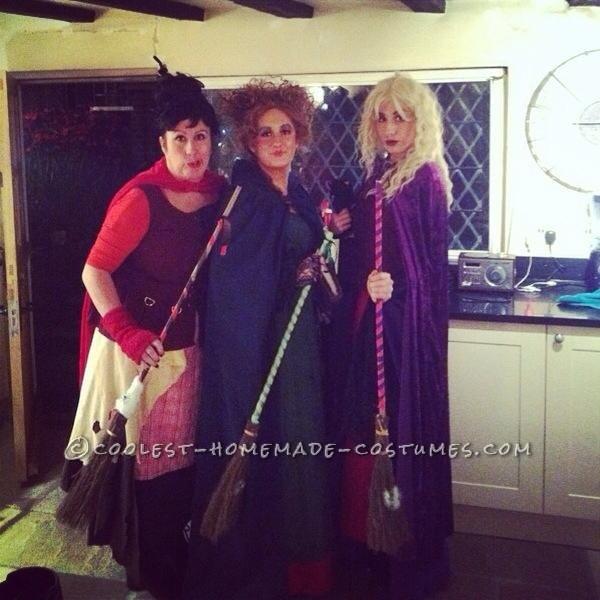 Sanderson Sisters Group Halloween Costume