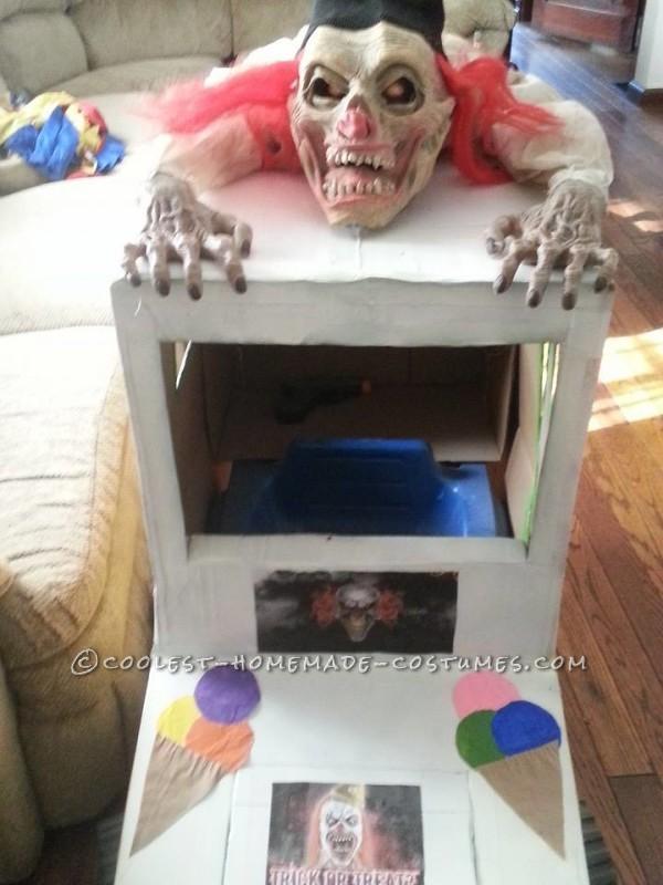 crazy clown on top