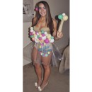 Sexy Dippin Dots Costume for Women