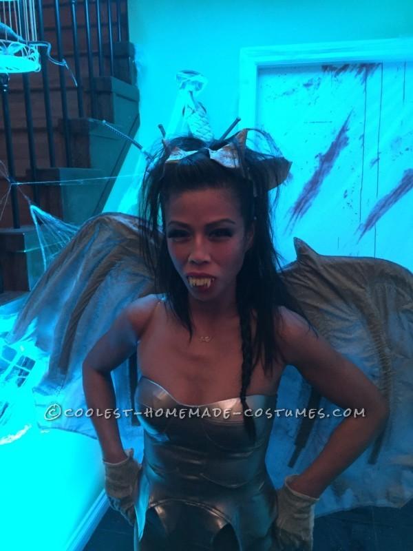 Sexy Homemade Gargirl (Gargoyle) Costume - 2