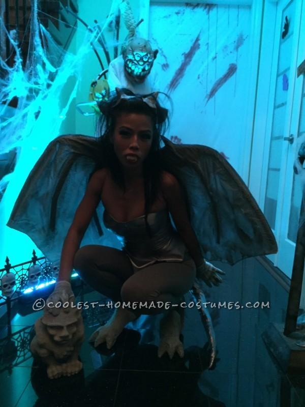 Sexy Homemade Gargirl (Gargoyle) Costume - 3