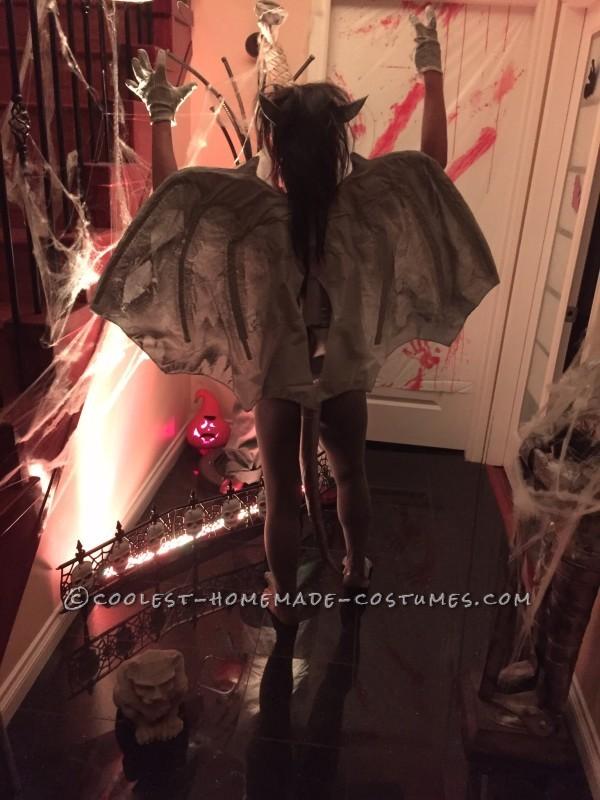 Sexy Homemade Gargirl (Gargoyle) Costume - 1