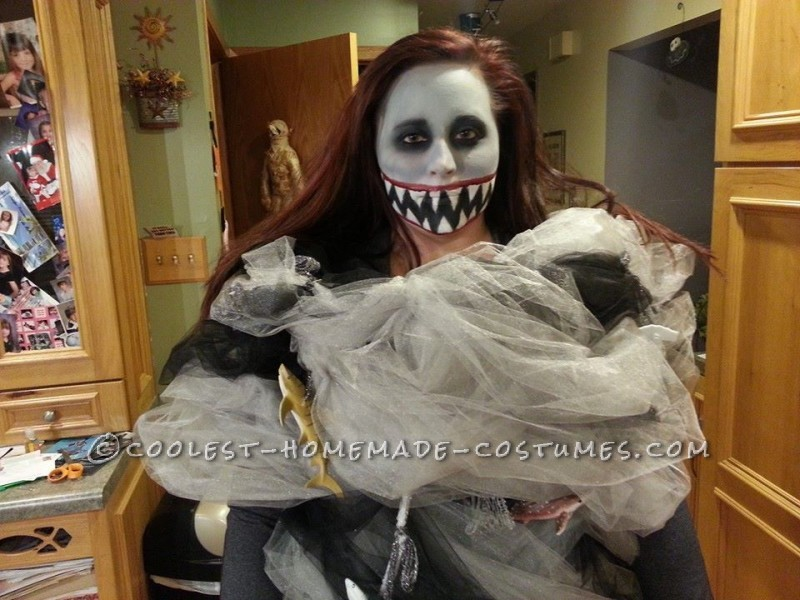Coolest Homemade Sharknado Costume - 1