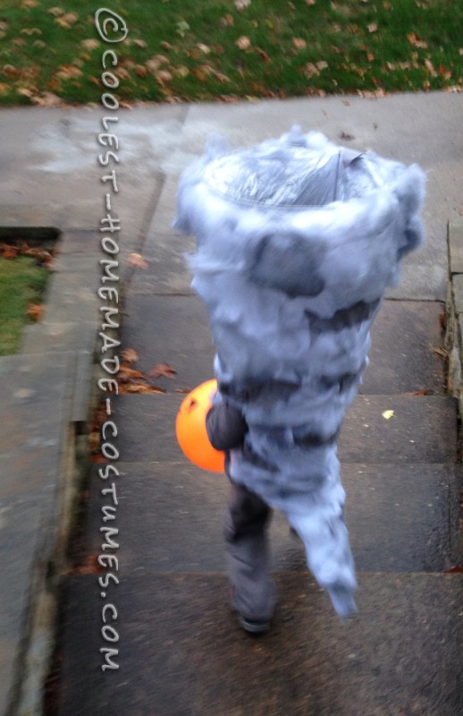 Sharknado Costume Preschool Style - 3