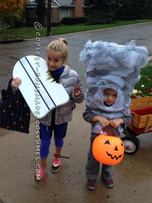 Sharknado Costume Preschool Style - 2