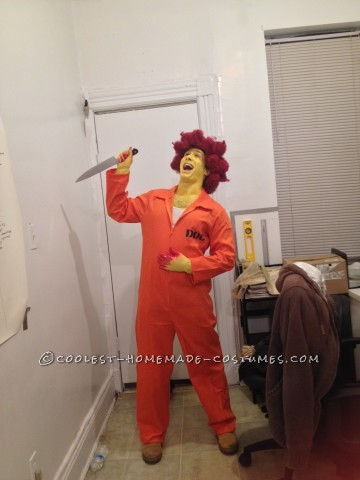 Sideshow Bob and Crazy Cat Lady from the Simpsons