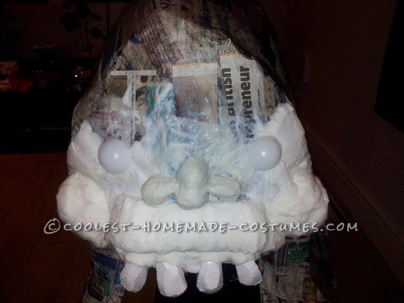Homemade Slimer From Ghostbusters Costume - 4