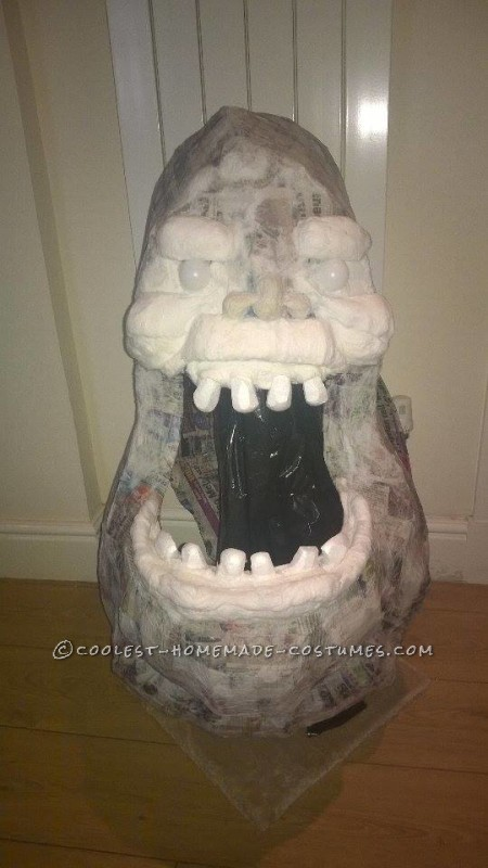 Homemade Slimer From Ghostbusters Costume - 5