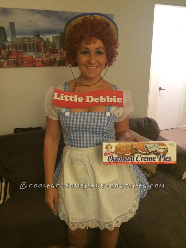Homemade Little Debbie Costume - Snack Cakes for All!