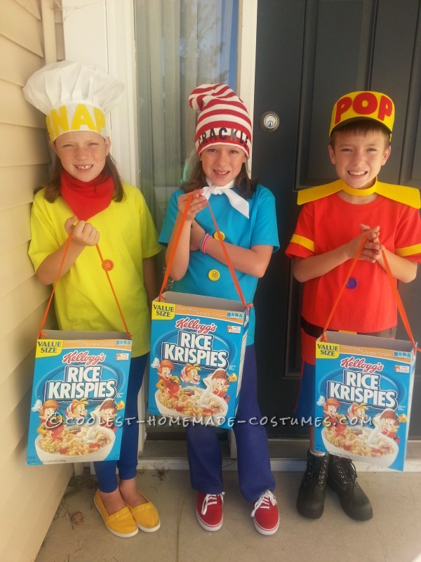 Cool Snap Crackle And Pop Child Costumes