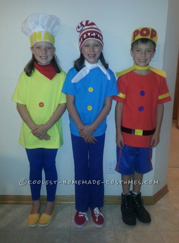 Cool Snap, Crackle and Pop Child Costumes