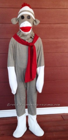 20d4954a325 Coolest Homemade Sock Monkey Costume