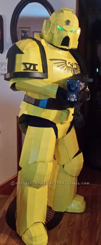 Awesome Space Marine Costume - 3