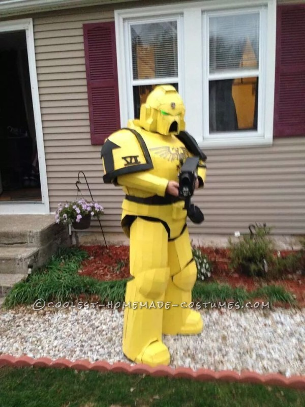 Awesome Space Marine Costume - 1