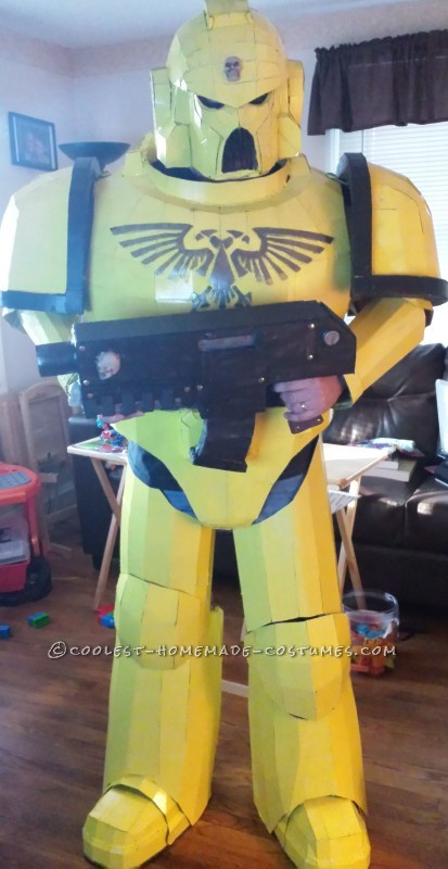 Awesome Space Marine Costume