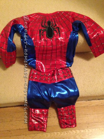 Cool Spiderman Costume For a Toddler