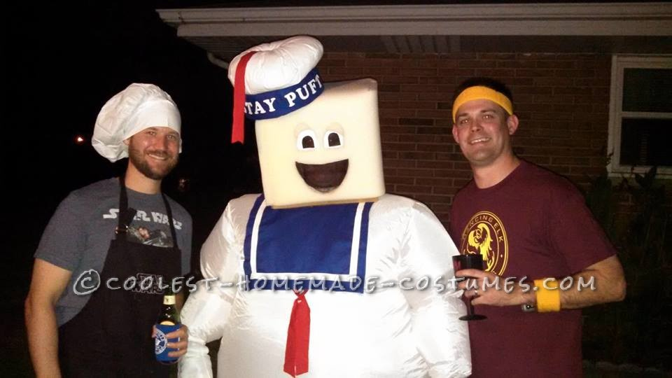 Stay Puft Marshmellow Man Costume