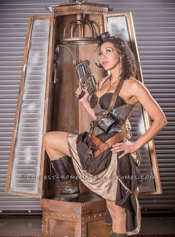Sexy Steampunk Sheriff Costume