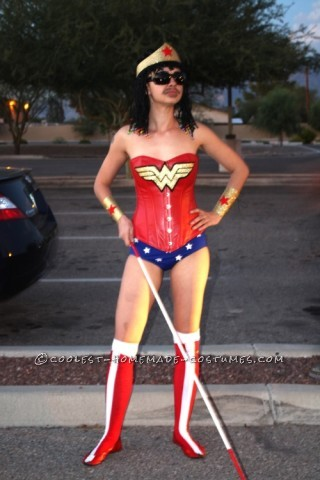 Original Stevie Wonder Woman Wordplay Costume